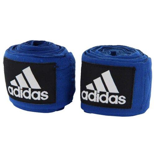 Кистевые бинты adidas Boxing Crepe Bandage 350 см синийАксессуары и принадлежности<br>
