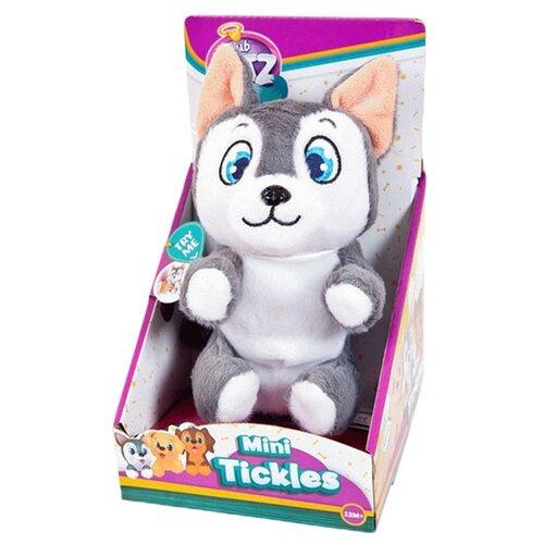 Фото - Интерактивная мягкая игрушка Club Petz Mini Tickles Щенок серый shokid интерактивная мягкая игрушка shokid щенок noisette 15 см