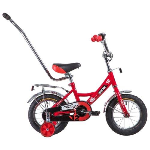 Детский велосипед Novatrack Urban 12 (2019) красный (требует финальной сборки) велосипед ghost square urban 2 2016