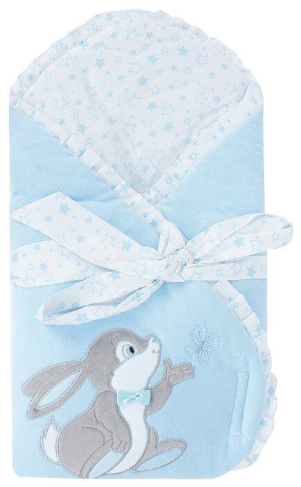 Конверт-одеяло Leader Kids Зайка с бабочкой