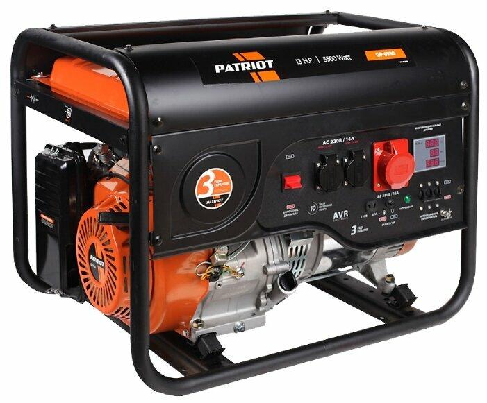 Бензиновый генератор PATRIOT GP 6530 (5000 Вт)