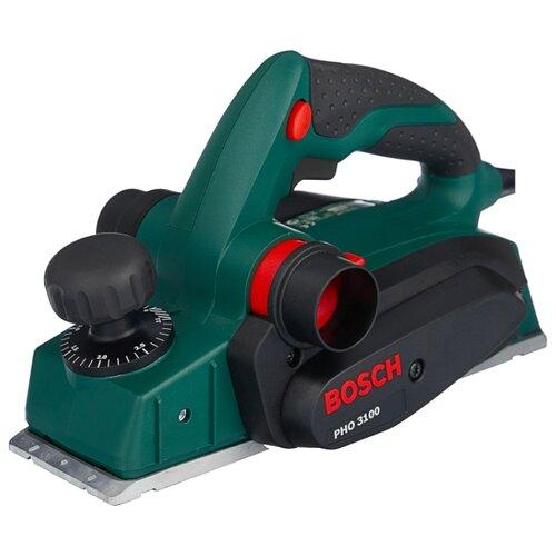 Купить со скидкой Электрорубанок BOSCH PHO 3100 зеленый/черный