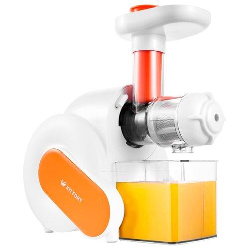 Соковыжималка Kitfort KT-1110 оранжевый
