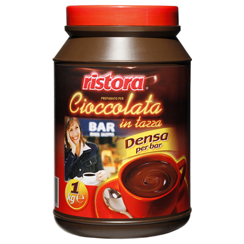 Ristora Горячий шоколад Bar растворимый, 1000 гКакао, горячий шоколад<br>