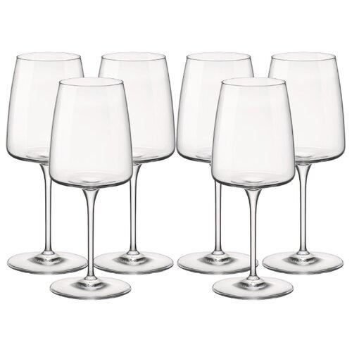 Bormioli Rocco Набор бокалов для вина Nexo rosso 450 мл 6 шт бесцветный набор бокалов для вина crystalite bohemia colibri 450 мл 6 предметов