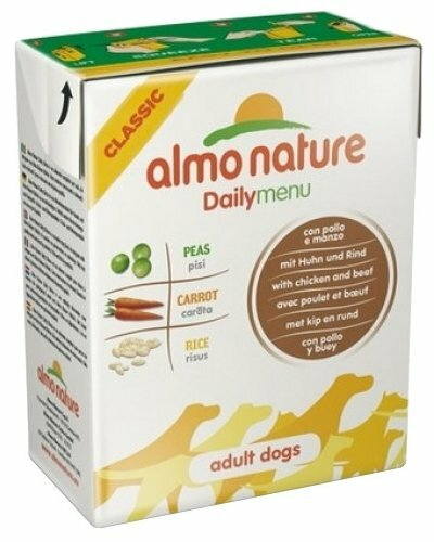 Корм для собак Almo Nature Daily Menu курица, говядина 375г