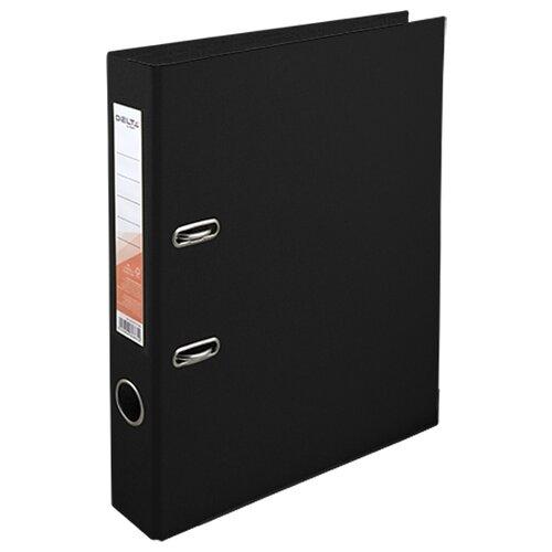 Купить Delta by Axent Папка-регистратор A4 с двусторонним покрытием, 5 cм черный, Файлы и папки