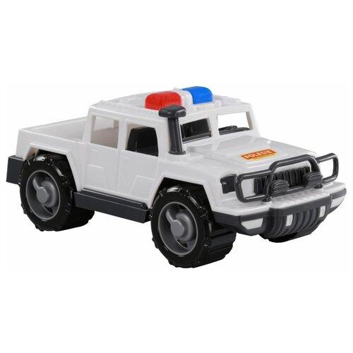 Купить Внедорожник Полесье патрульный Защитник в коробке (69191) 31 см белый, Машинки и техника