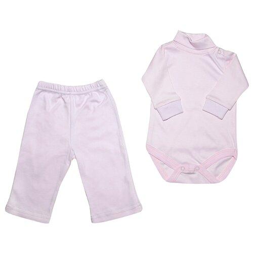 Комплект одежды Клякса размер 80, розовыйКомплекты<br>