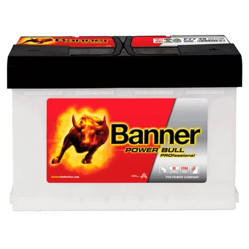 цена на Автомобильный аккумулятор Banner Power Bull PROfessional P77 40