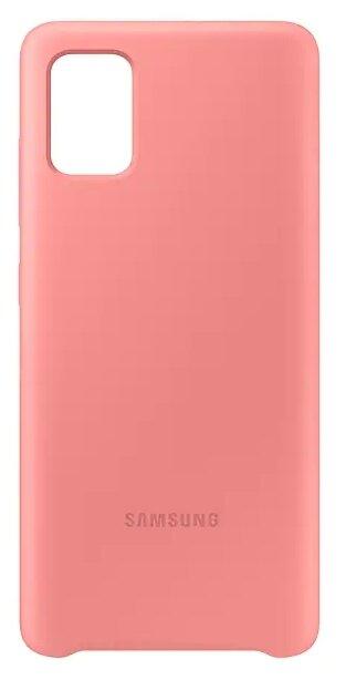 Чехол Samsung A515 Galaxy A51 Silicone Cover Black EF-PA515TBEGRU