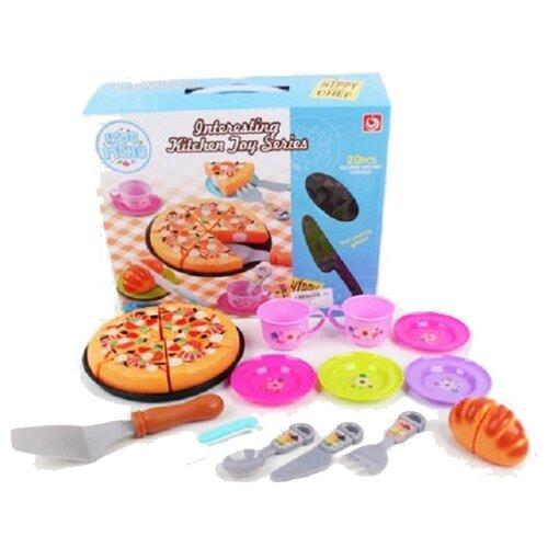Набор продуктов с посудой Shantou Gepai JB202184 разноцветный