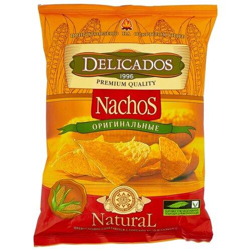 Чипсы Delicados Nachos кукурузные Оригинальные, 150 г