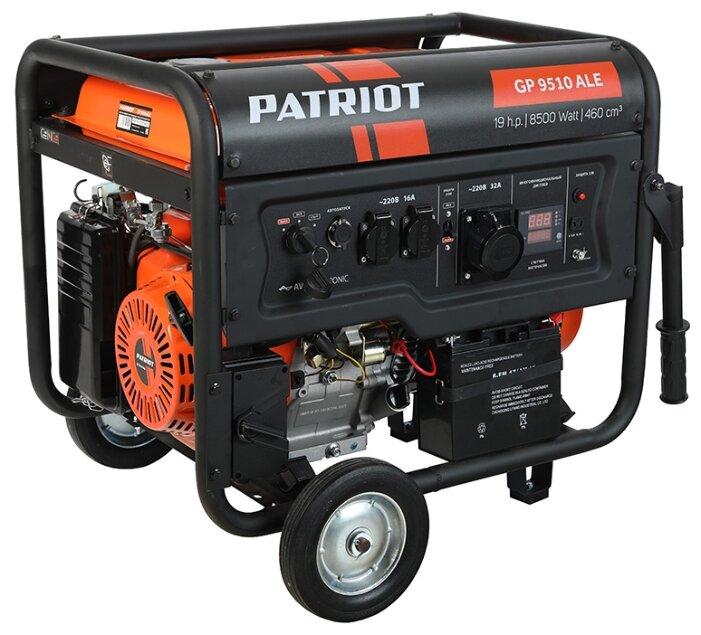 Бензиновый генератор PATRIOT GP 9510ALE (8000 Вт)