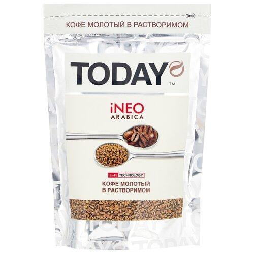 Кофе растворимый Today Ineo Arabica сублимированный, пакет, 75 г фото