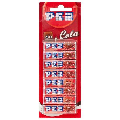 Конфета PEZ со вкусом колы набор 68 г игрушка с конфетами pez вкус ассорти 70 г