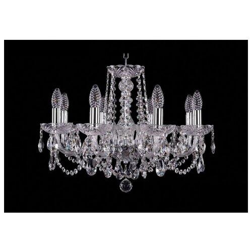 Люстра Bohemia Ivele Crystal 1402 1402/8/195/Ni, E14, 320 Вт люстра bohemia ivele crystal 1402 1402 8 195 g m711 e14 320 вт