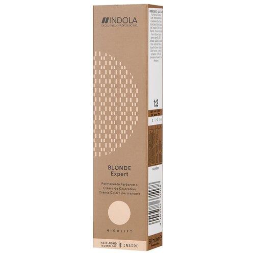 Купить Indola Blonde Expert Перманентный крем-краситель для волос Highlift, 1000.27, Блондин перламутровый фиолетовый, 60 мл
