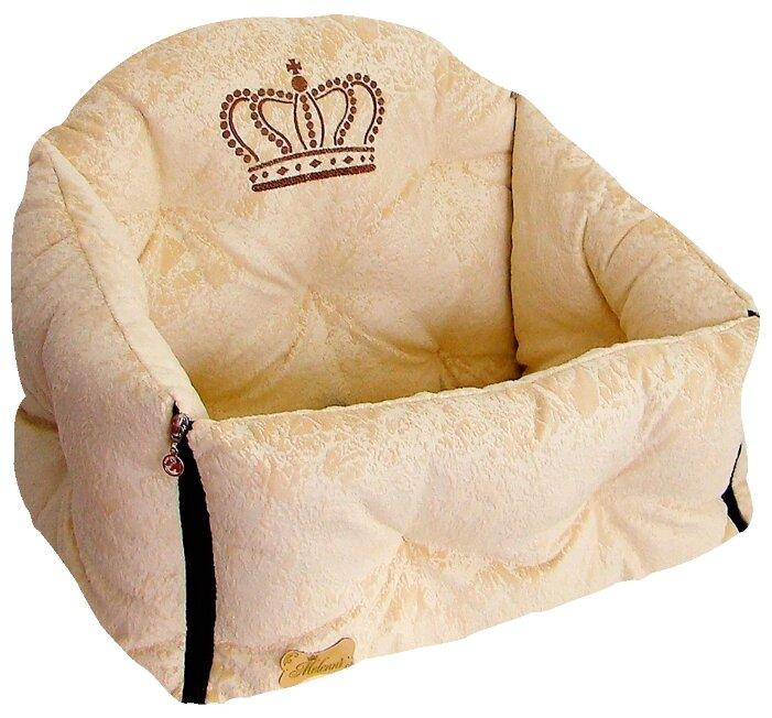Автогамак для собак Melenni Премиум Корона 45х50х40 см
