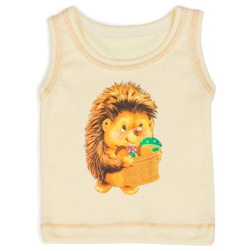 Майка Babyglory размер 80, желтый джемпер для новорожденных babyglory superstar цвет синий ss001 09 размер 80