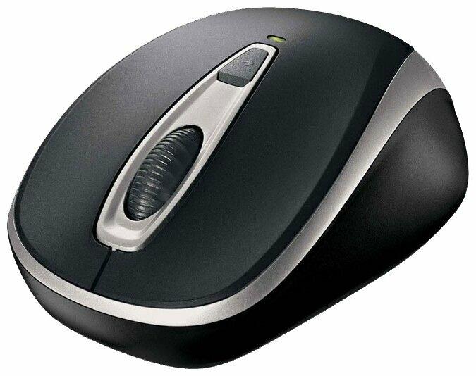 Мышь Microsoft Wireless Mobile Mouse 3000V2 Black USB