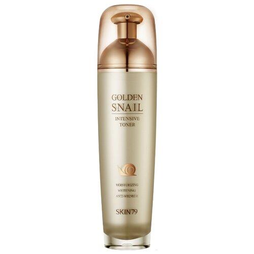 Skin79 Тонер для лица с улиточным муцином и золотом Golden Snail Intensive 130 мл успокаивающий тонер для лица ac collection calming liquid intensive 125мл