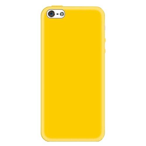 Чехол With Love. Moscow W003737APP для Apple iPhone 5/iPhone 5S/iPhone SE желтыйЧехлы<br>