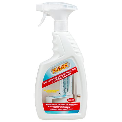XAAX спрей для акриловых поверхностей и душа 0.75 лДля кафеля, сантехники и труб<br>