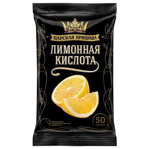 Царская приправа Лимонная кислота (4 шт. по 50 г)