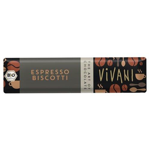 Шоколад Vivani молочный с начинкой из эспрессо-крема и вафельной крошкой, 40 г karl fazer молочный шоколад с крошкой соленой карамели 200 г