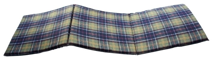 "Матрас для шезлонга Gift'n'Home ""Шотландка"", 40 х 120 см"