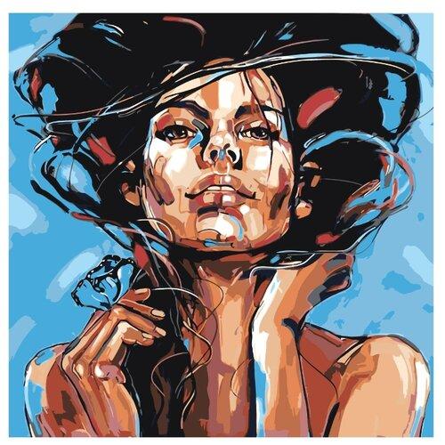 Картина по номерам, 100 x 100, RO182, Живопись по номерам , набор для раскрашивания, раскраска, Картины по номерам и контурам  - купить со скидкой