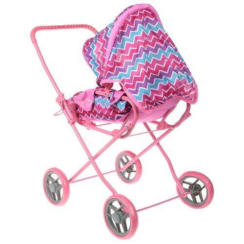 Купить Коляска-люлька Melobo / Melogo с переноской K0108 розовый, Коляски для кукол