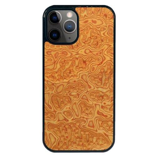 """""""Чехол T&C Apple iPhone 12 / 12 Pro (айфон 12 / 12 про) Silicone Wooden Case Classic series (корень Дуба)"""""""