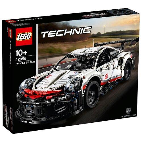 Конструктор LEGO Technic 42096 Порше 911 RSR lego конструктор lego technic 42080 лесозаготовительная машина