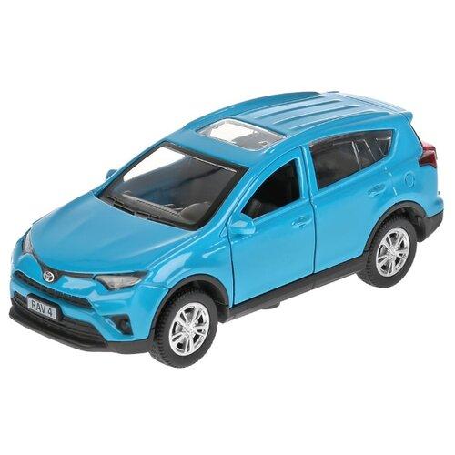 Купить Легковой автомобиль ТЕХНОПАРК Toyota RAV4 12 см синий, Машинки и техника