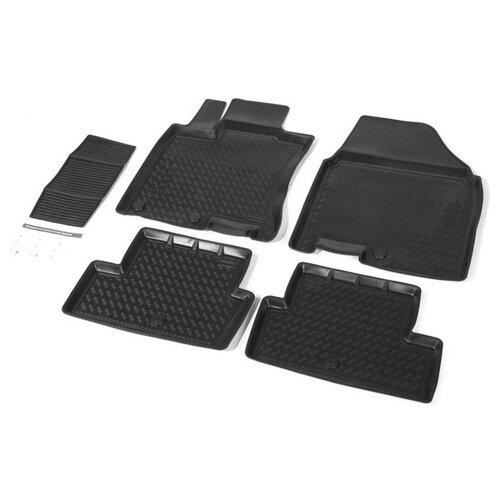 Комплект ковриков RIVAL 14105003 Nissan Qashqai 5 шт. черный