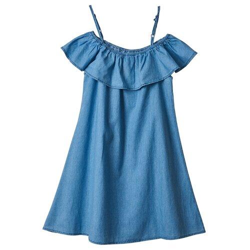 Платье kari Daniele Patrici размер 8-9, синийПлатья и сарафаны<br>