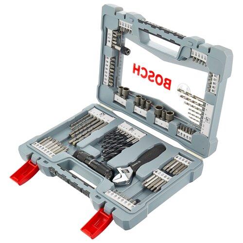 Набор оснастки BOSCH (91 предм.) Premium X-Line 91 (2608P00235) серый набор оснастки bosch x line 103 предмета