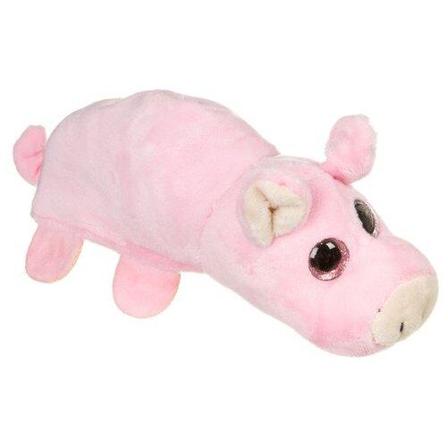 Мягкая игрушка Bondibon Милота вывернушка Поросенок-мышь 17 см