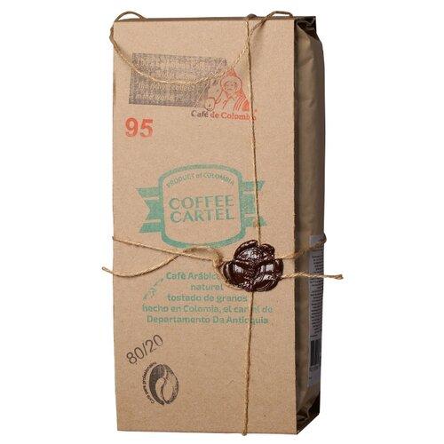 Кофе в зернах Coffe Cartel №95, смесь арабики и робусты, 1.3 кгКофе в зернах<br>