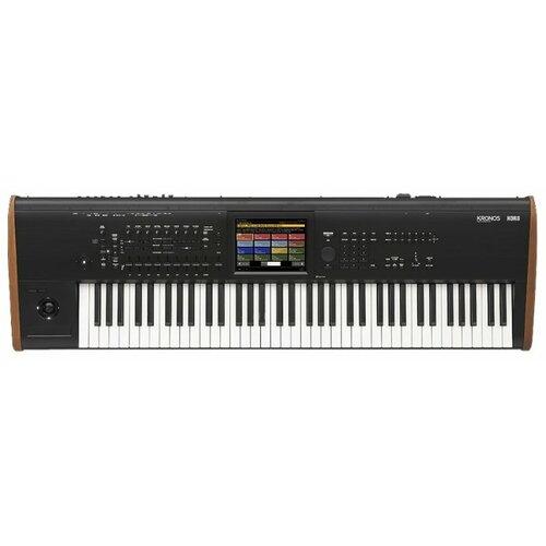 Синтезатор KORG KRONOS2 73 черный синтезатор korg kross 2 61 черный