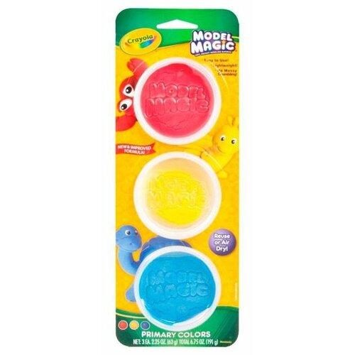 Фото - Масса для лепки Crayola Model Magic в банках 3 цвета (23-6018) crayola набор для лепки из теста crayola мини 1