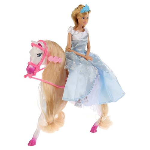 Кукла Карапуз София Снежная принцесса, 29 см, 99106-S-AN кукла карапуз герда 29 см снежная королева в голубом платье карапуз