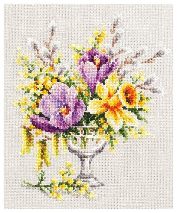 Чудесная Игла Набор для вышивания Весенний букетик