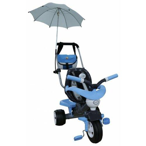 Купить Трехколесный велосипед Coloma Y Pastor Амиго 3 46949 черный/голубой, Трехколесные велосипеды