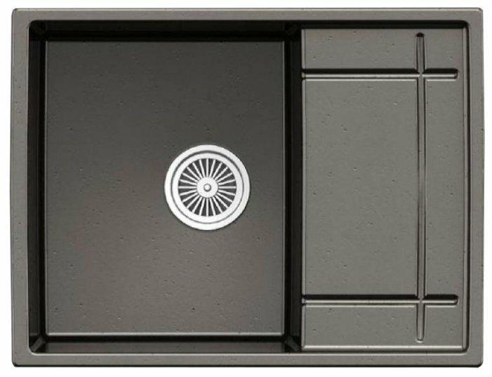 Врезная кухонная мойка Granula 6501 65х50см искусственный гранит