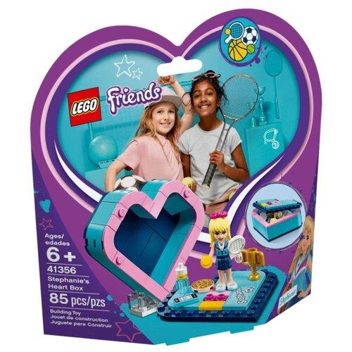 Конструктор LEGO Friends 41356 Шкатулка-сердечко Стефани lego friends 41354 шкатулка сердечко андреа конструктор