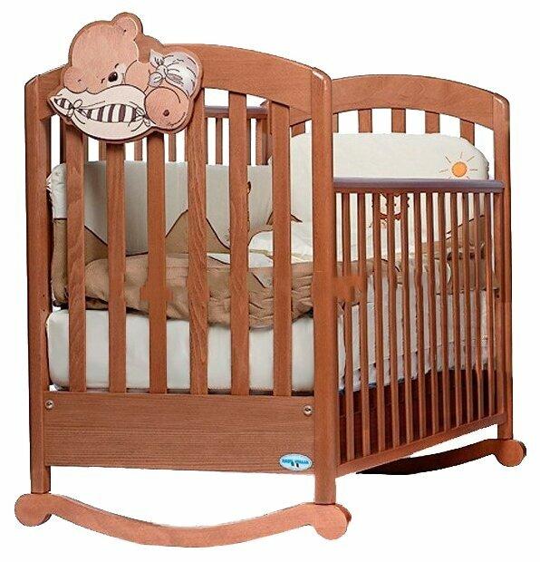 Кроватка Baby Italia Leo (качалка)
