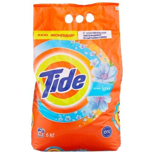 Стиральный порошок Tide Lenor Touch of Scent (автомат) 6 кг пластиковый пакет порошок стир tide lenor лаванда автомат 4 5кг